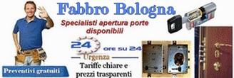 Fabbro Bologna da 59 € – apertura porte , riparazione serrature